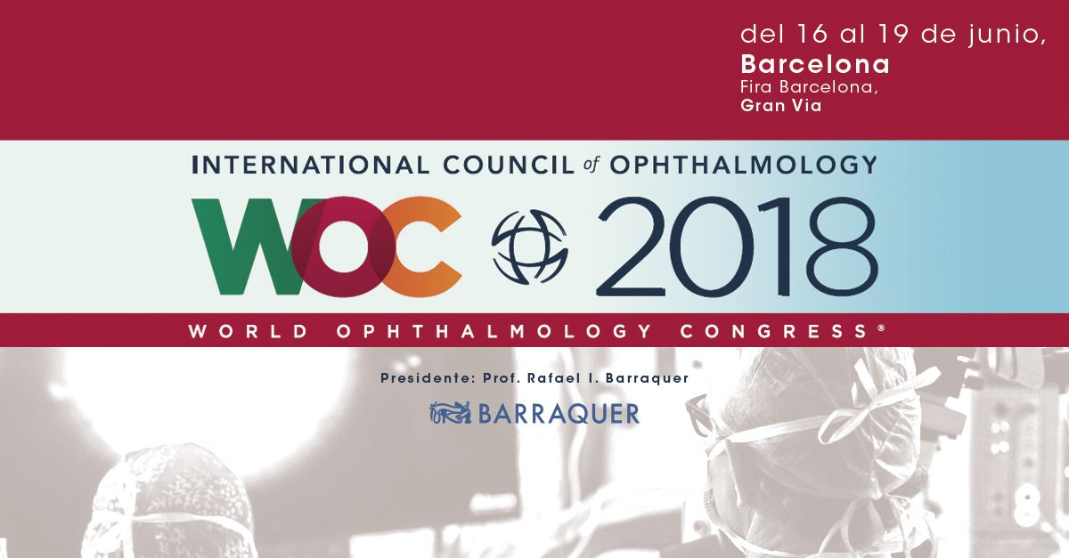 Fotografia WOC 2018, Barcelona World Ophtalmology Congress