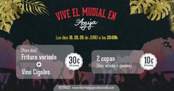 Mundial en Restaurante La Aguja