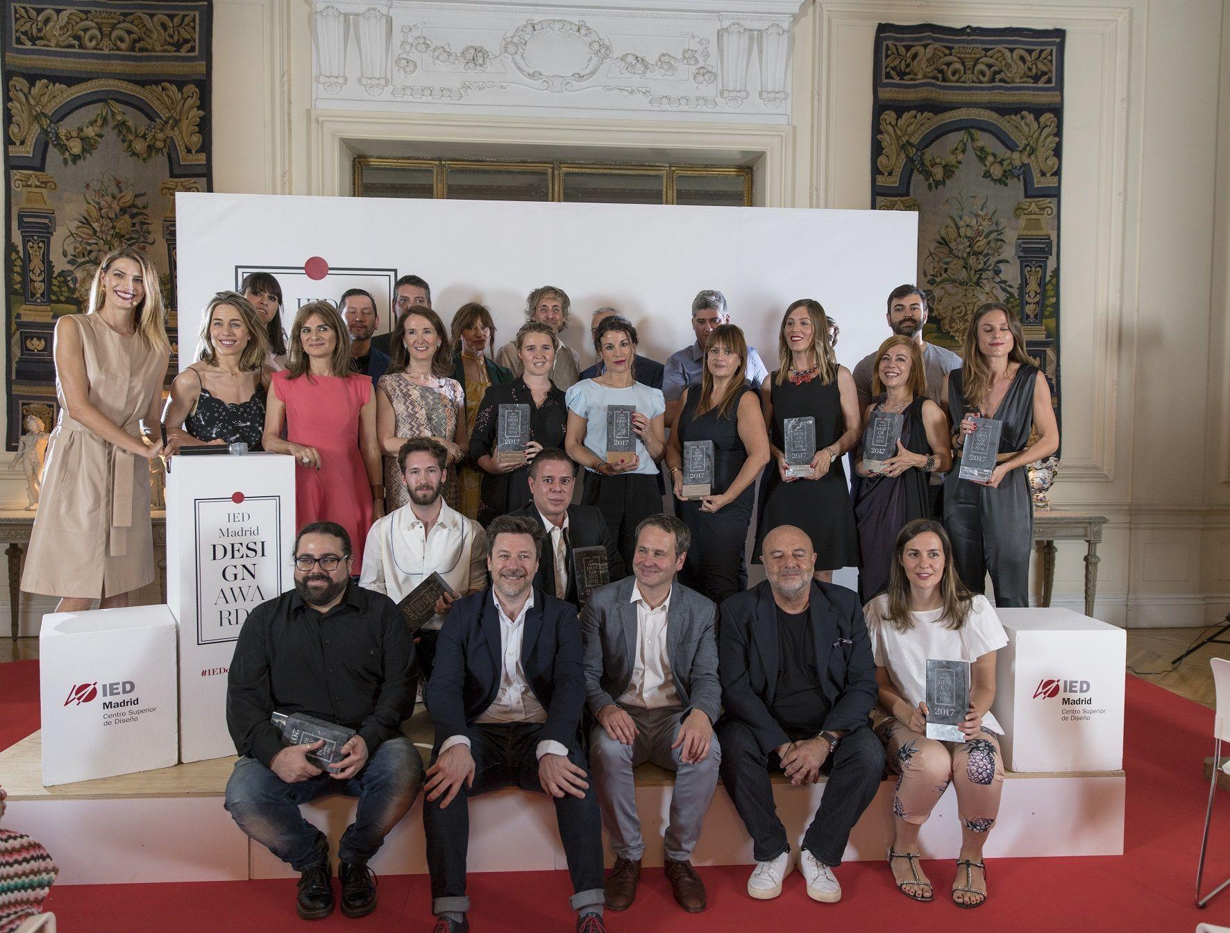 Fotografia Ganadores de la anterior edición de los IED Design Awards