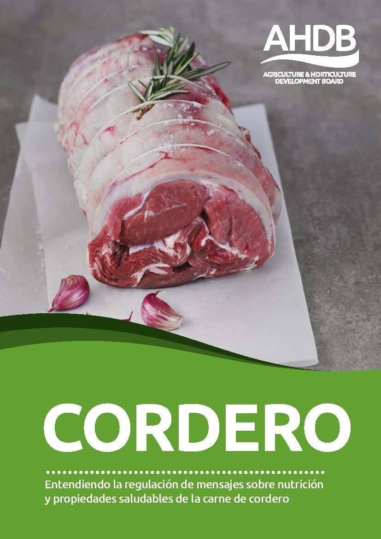 Fotografia Guía de nutrición de cordero de AHDB