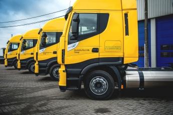 Nuevas cabezas tractoras a gas natural de DHL
