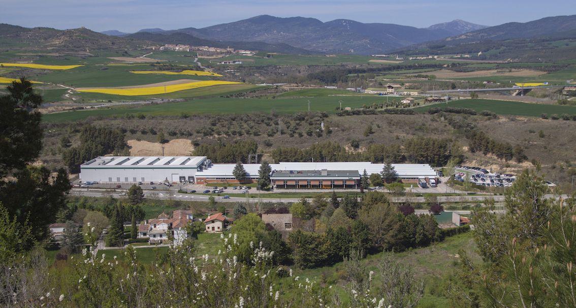 Fotografia Planta de Schneider Electric en Puente la Reina Navarra
