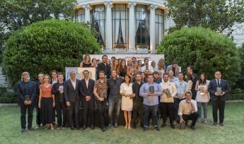 Foto de los premiados en la III edición de los IED Design Awards