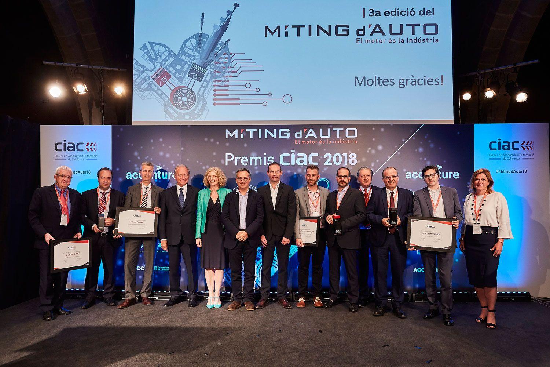 Fotografia MÍTING-d'AUTO-2018_Foto familia ganadores Premios CIAC