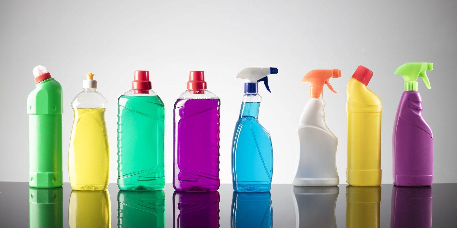 Fotografia Productos de limpieza industrial