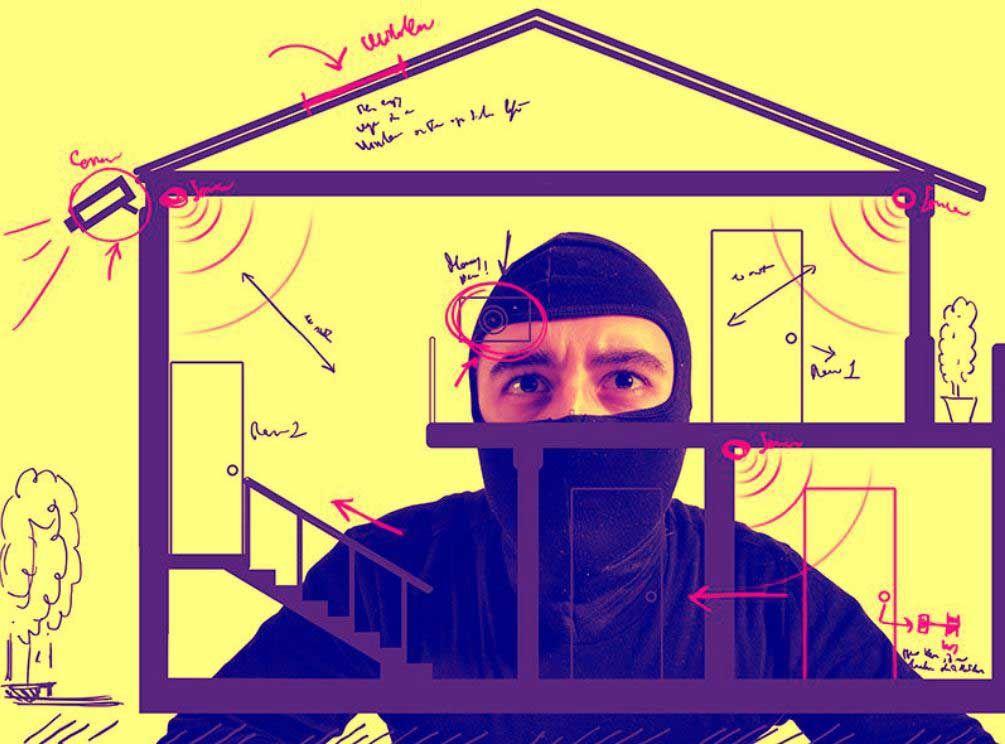 Fotografia Evitando robos en domicilios