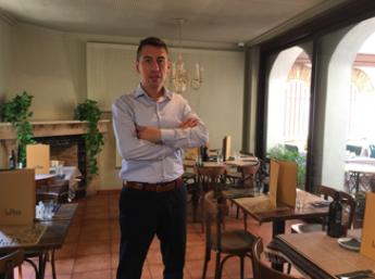 Paulo Salazar, restaurant La Plaça