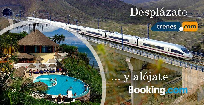 Trenes.com y Booking.com anuncian un acuerdo de colaboración