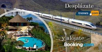 Trenes.com y Booking.com