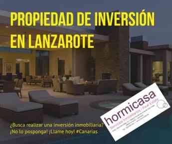 Propiedad de inversión en Lanzarote
