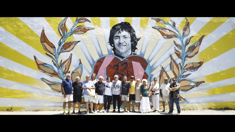 Fotografia Presentación del mural.