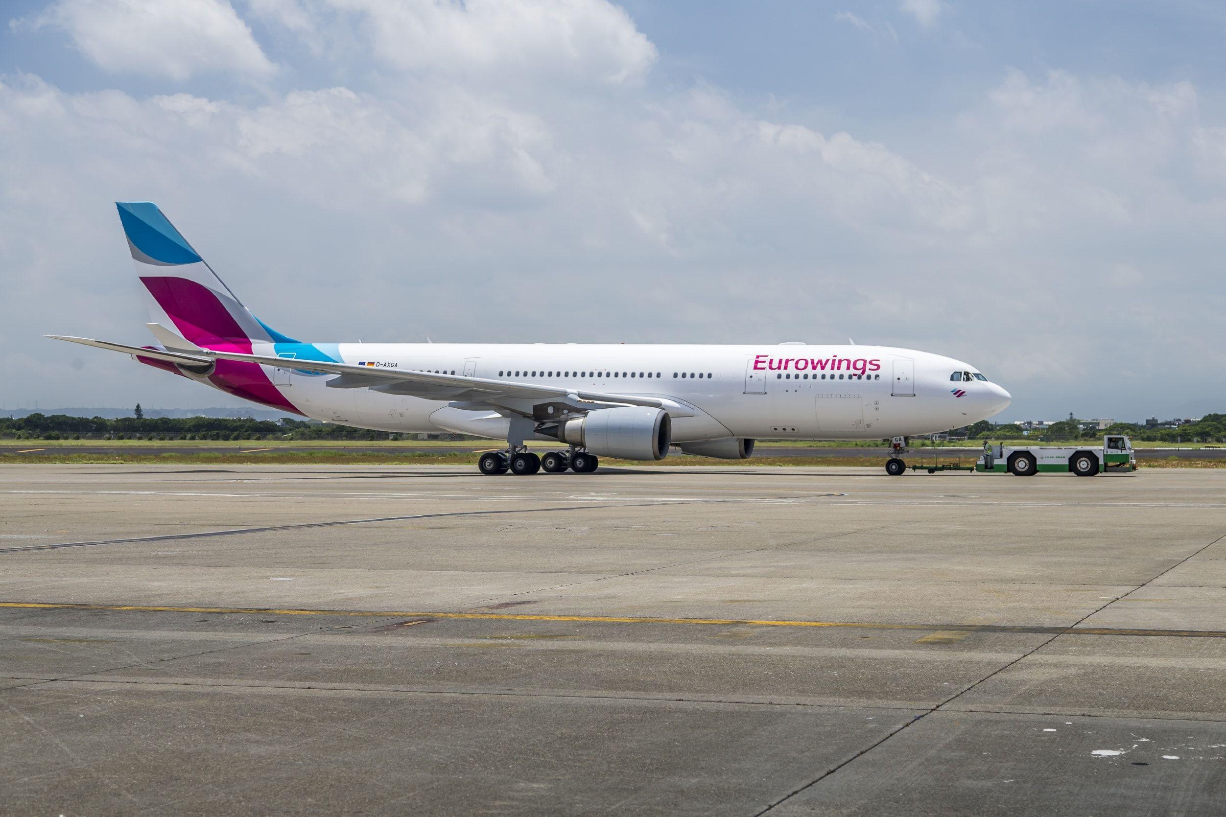 Eurowings incorpora a su flota 77 nuevos aviones en solo nueve meses