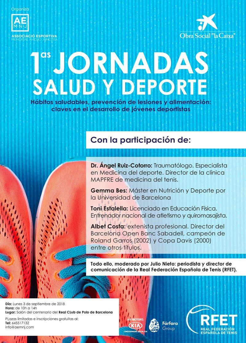 Fotografia 1as Jornadas Salud y Deporte