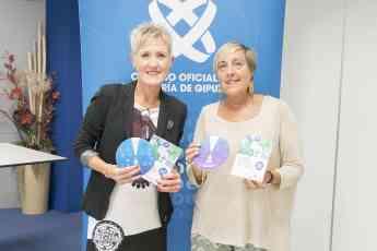 La presidenta del COEGI, Pilar Lecuona y la vocal de la Comisión de