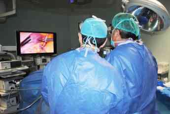 Cirugía de obesidad con visión tridimensional