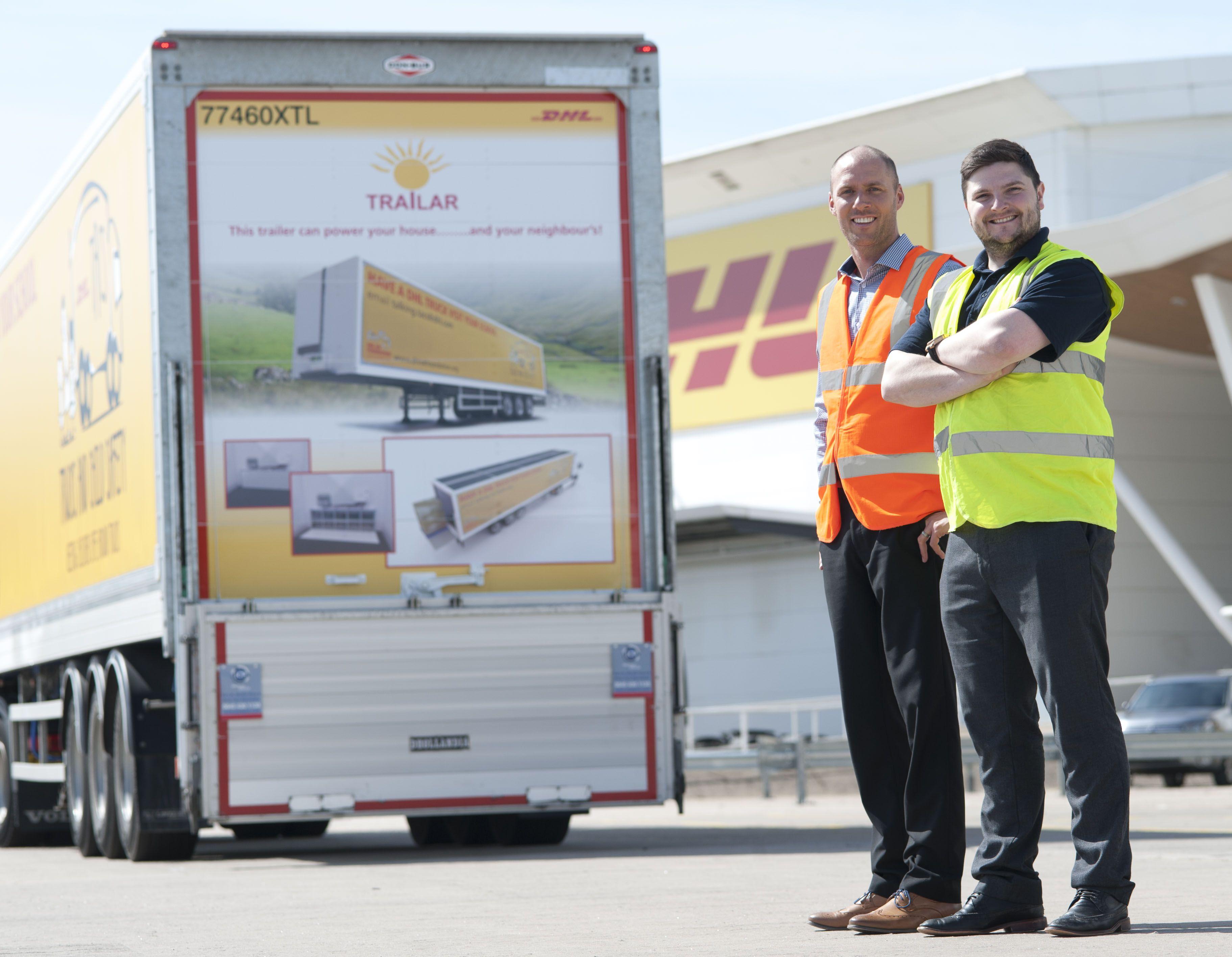 Fotografia Sistema TRAILAR de DPDHL Group para camiones
