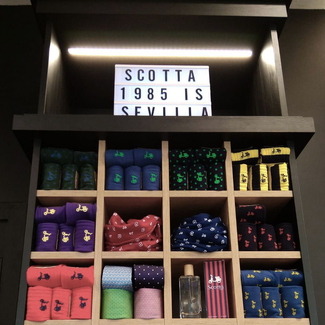 Scotta 1985 abre su primera tienda en Sevilla