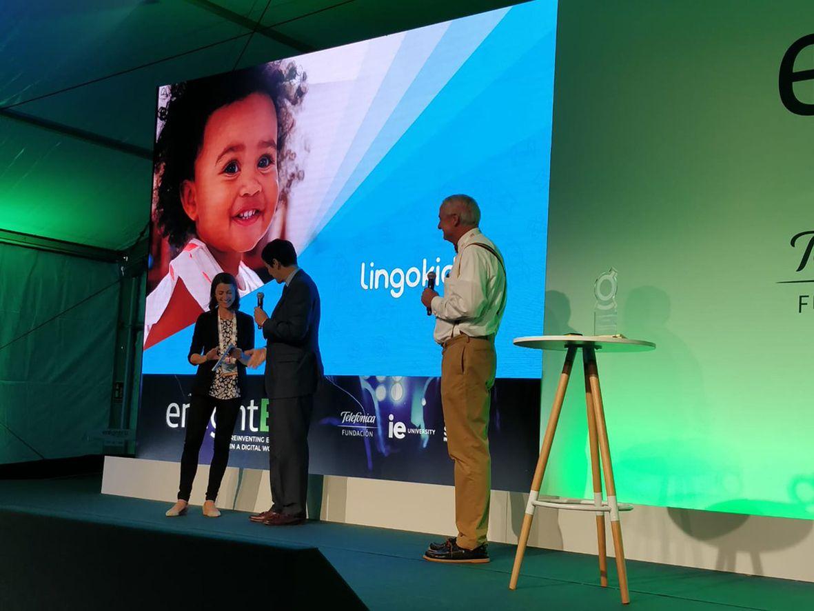 lingokids gana premio startup mayor impacto social educación