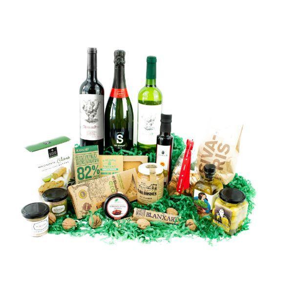 cestas navidad saludables regalo estrella estas fiestas