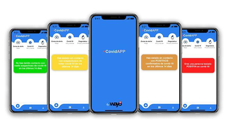 +CovidAPP, la nueva aplicación orientada al rastreo de la cadena de infección Covid-19