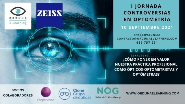 orduna e-learning organiza jornadas controversias optometría