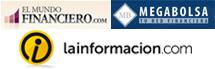 Noticias.com, Rankia, Mundo Financiero
