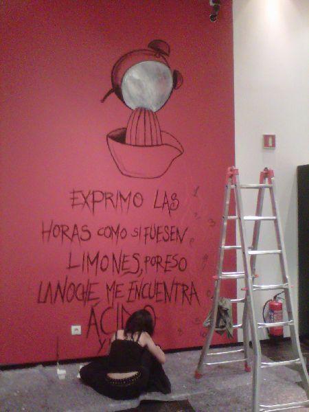 Foto de Pintura Manolo García