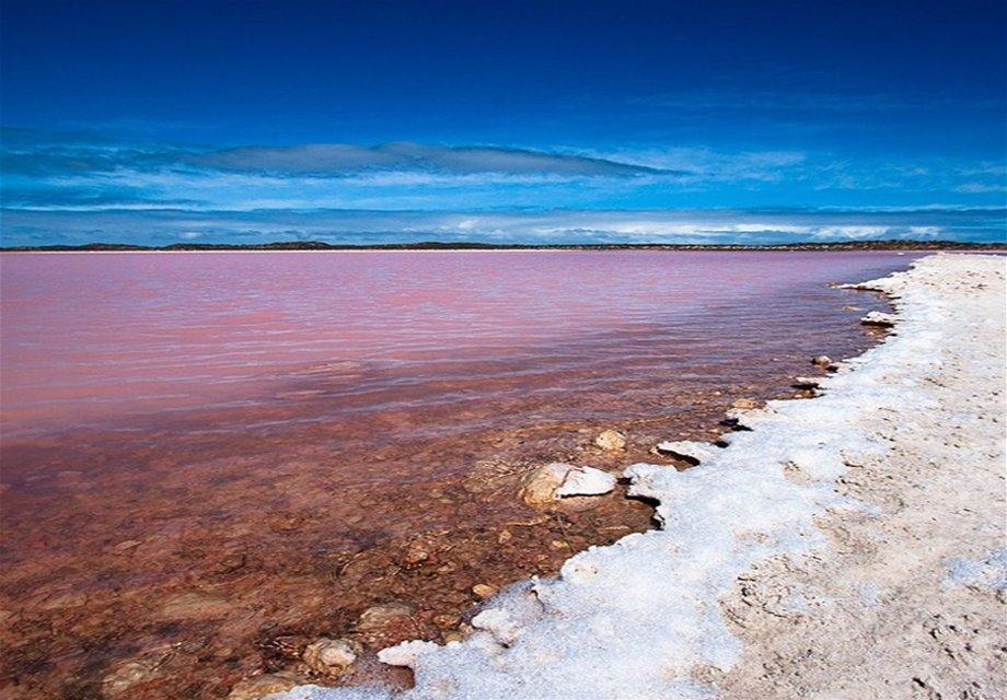 Lago Rosa de Senegal, El Lago Retba de Senegal - Notas de prensa