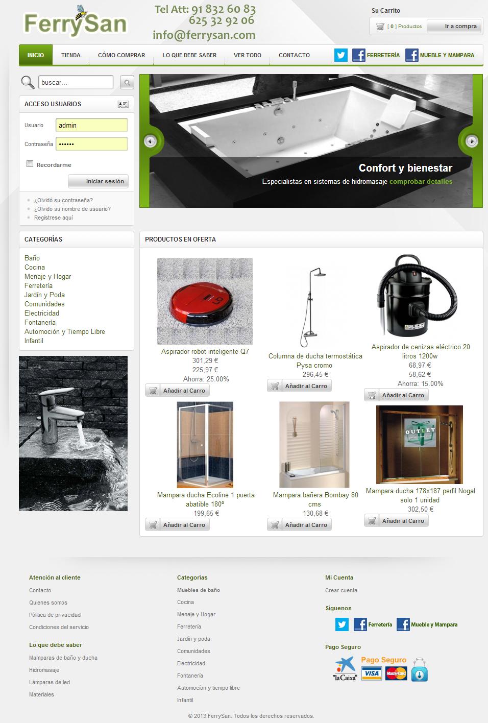 Definici n cat logo online y una forma de comprar - Muebles de bano a medida san sebastian de los reyes ...