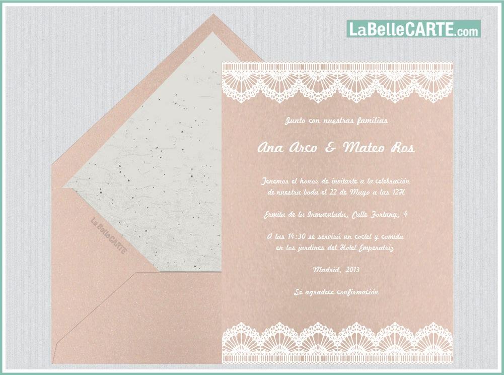 Originales Tarjetas E Invitaciones Virtuales En Tono Pastel