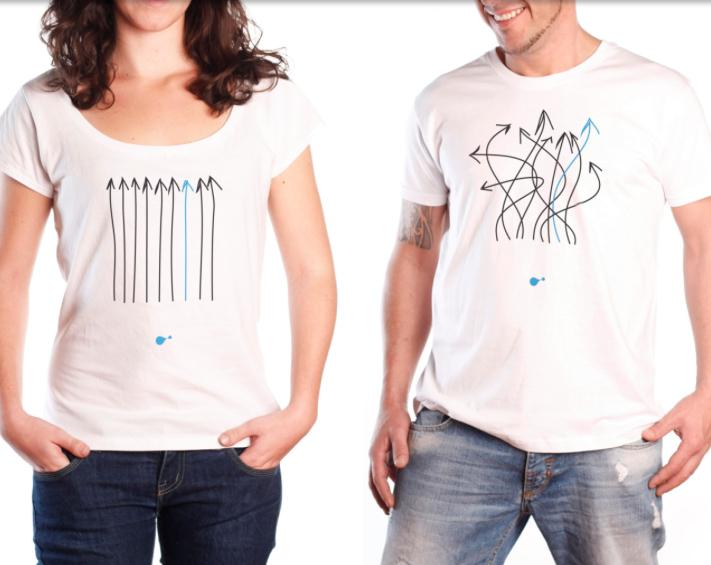 Una Joven Empresa Disena Camisetas Para Unir A Las Personas Una
