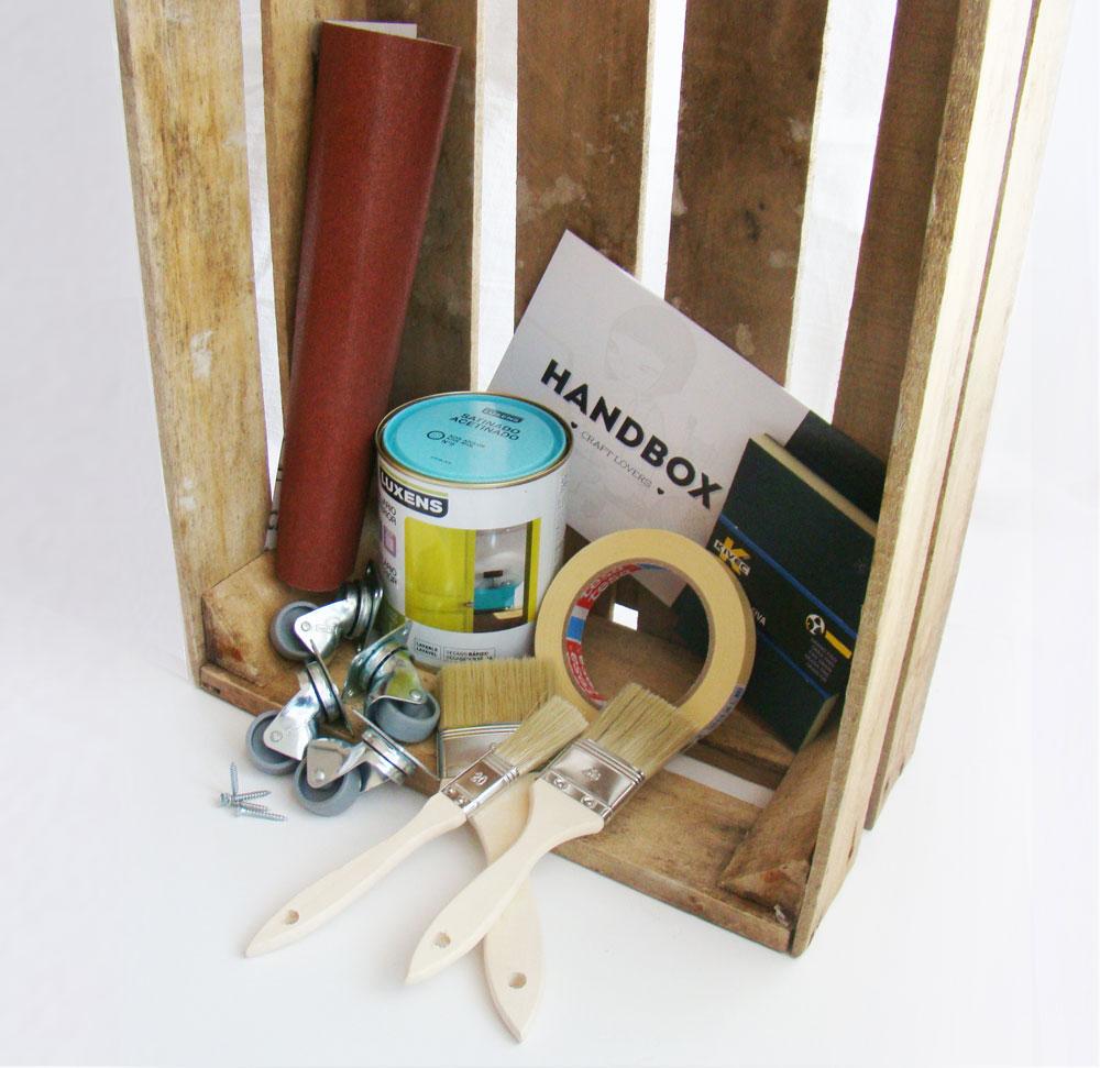 Handbox el nuevo referente online do it yourself saca a la venta su diy foto de materiales kit solutioingenieria Image collections