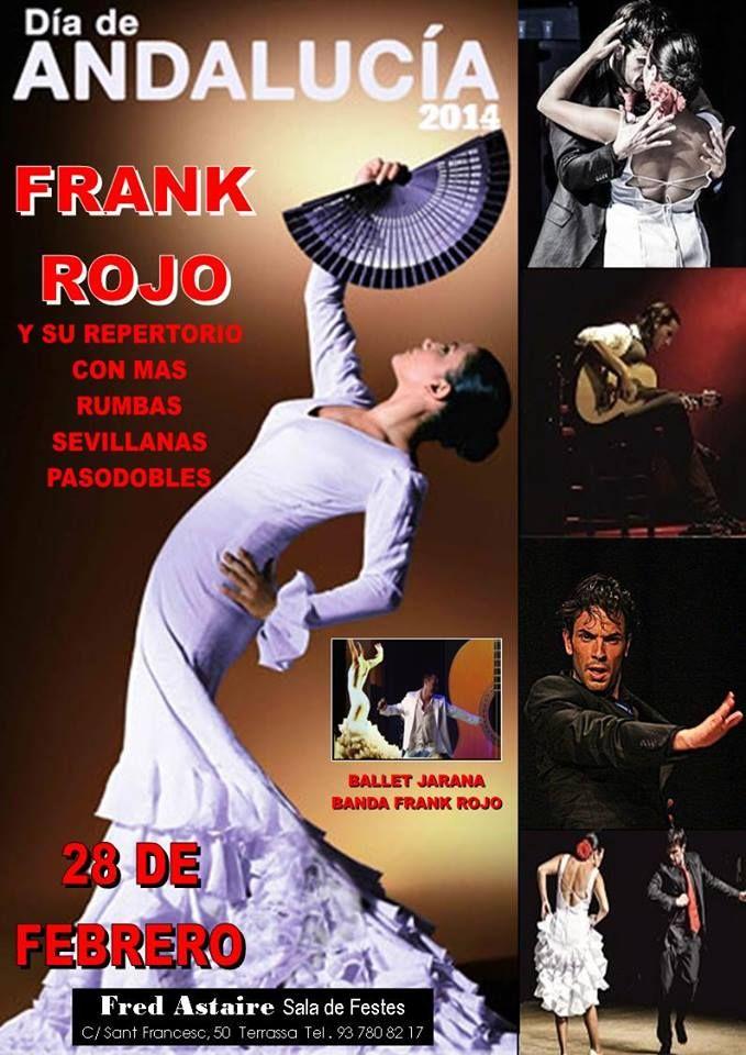 Foto de Cartel Día de Andalucía con Frank Rojo