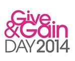 Logo Give & Gain Day 2014