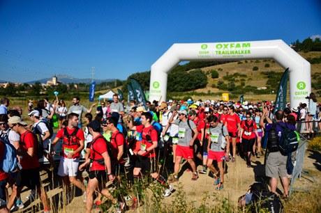 Foto de La primera edición del Oxfam Intermón Trailwkalker en