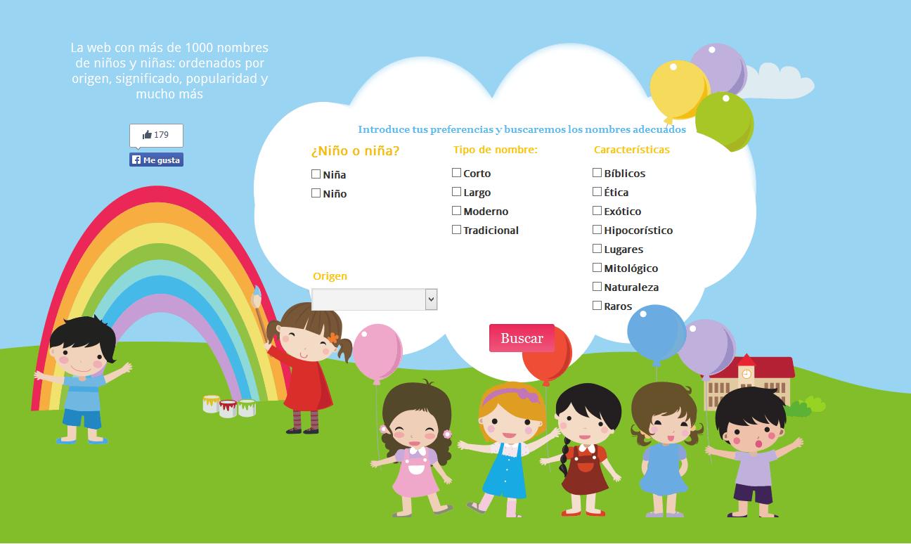 Nombresdeniñoseu La Herramienta Para Buscar Nombres De Niños En