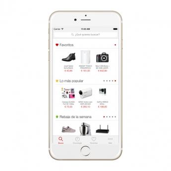 Foto de App EncuentraPrecios Home Page