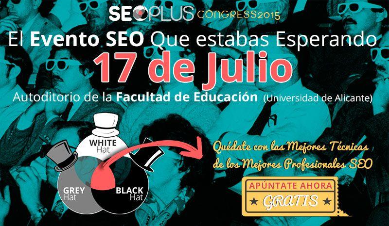 Foto de SEOPLUS Congress 2015, Evento SEO en Alicante