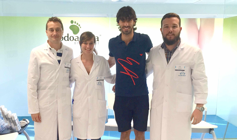 Foto de El equipo de Podoactiva, Javier Alfaro, Carmen Fernández y