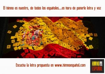 Foto de Letra del himno español