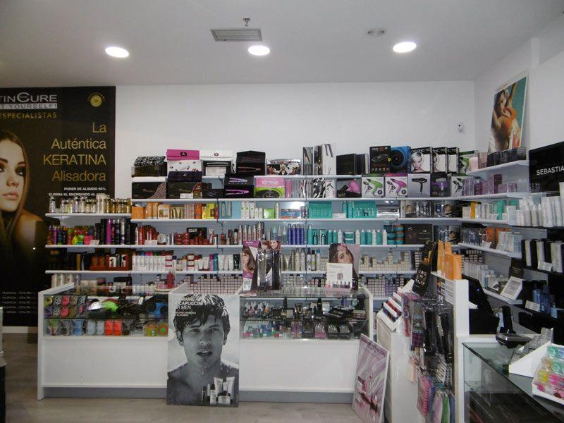 Tienda online de productos de peluqueria