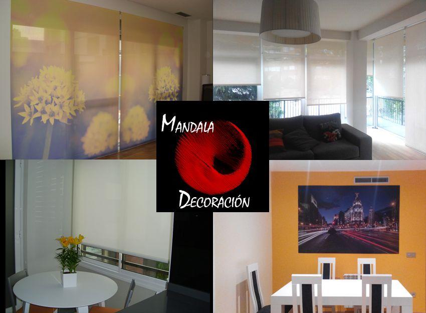 Mandala decoraci n lanza su cat logo online para la venta - Estores a medida madrid ...