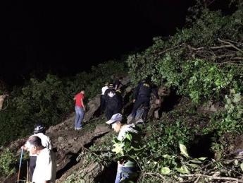 Rescates en Alud Guatemala