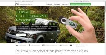 Foto de Lanzamiento nueva web usbpersonalizado.es