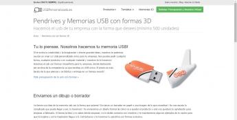 Foto de Memorias usb con formas 3D