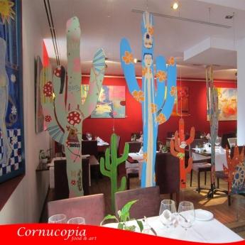 Foto de Celebrar Thanksgiving en el restaurante Cornucopia.