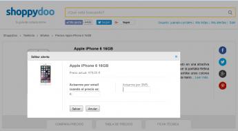 Foto de Alarma de precios iPhone 6