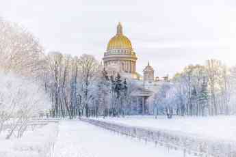 San Petersburgo en invierno