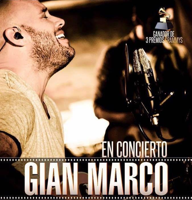 Gian Marco Listo para iniciar por todo lo Alto su Gira #Libre 2016 ...