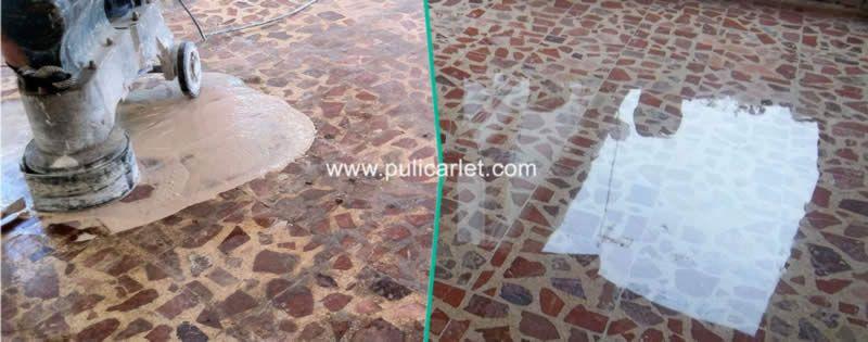 Ltimas tecnolog as en el tratamiento de suelos y for Como pulir marmol